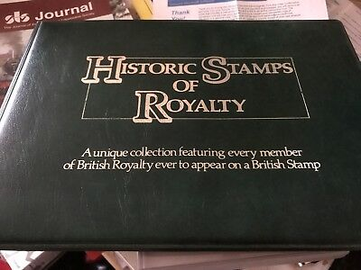 GB - Sumner Historic Stamps of Royalty booklet A4 Size 16 pages + MINT stamps