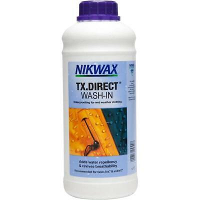 New Nikwax Directã¢Â® Wash-In 1L Outdoor Equipment Repair & Care 1L