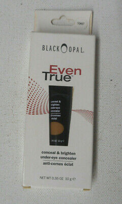 BLACK OPAL EVEN TRUE CONCEAL & BRIGHTEN UNDER EYE CONCEALER TOAST nib box worn