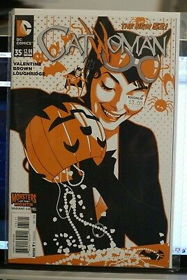 Catwoman #35 Monsters Of The Month Variant Dc Comics First Print (2014) Batman