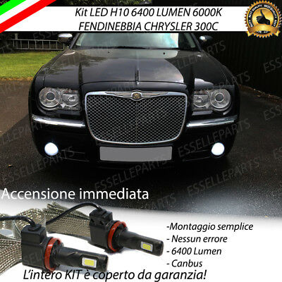 Kit Full Led Chrysler 300C H10 Fendinebbia Canbus 6400Lm 6000K No Error
