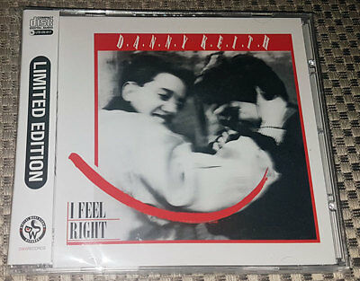 "CD DANNY KEITH ""I Feel Right"" [MAURO FARINA (RADIORAMA) and KEN LASZLO]"