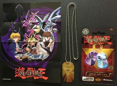 Yu-Gi-Oh! New Official Grinstudios Series 1 Metal Dog Tags Millennium Puzzle