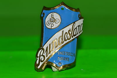 Vintage bicycle - Tablet Logo of the manufacturer-Bundesland -4530