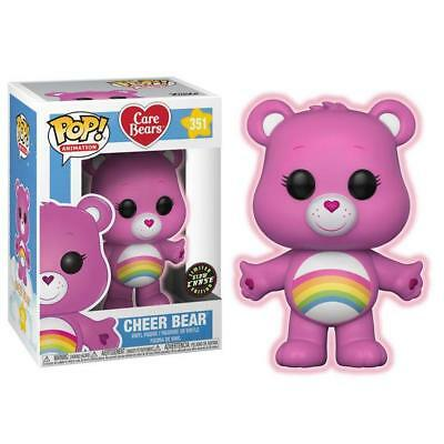 Glow Limited Chase Funko Pop! Animation 351 Care Bears Cheer Bear Pop Vinyl