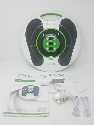 Revitive Circulation Booster with power cord, user's manual.  NO pads NO remote