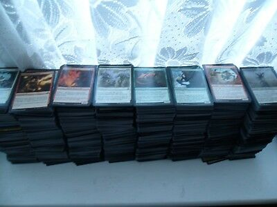 Magic the Gathering Job Lot Commons and Uncommons MTG 550 Cards