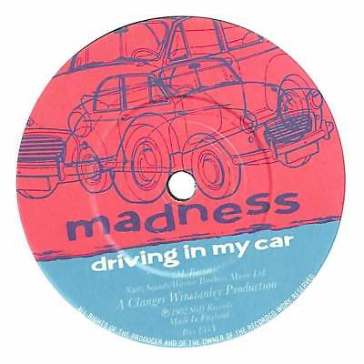 """Madness - Driving In My Car - 7"""" Record Single"""