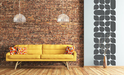 Retro Wall Decal Mid Century Modern Wall Decor Removable Wall Decor 45 00 Picclick