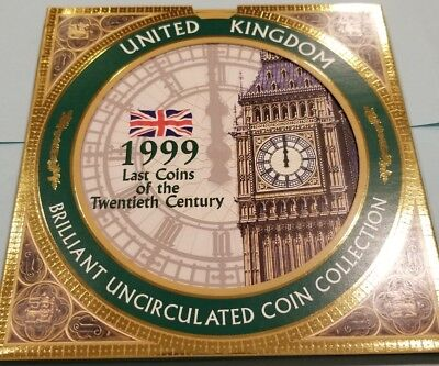 1999 United Kingdom Brilliant Uncirculated Coin Collection