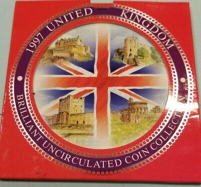 1997 United Kingdom Brilliant Uncirculated Coin Collection