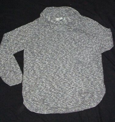 Womens Old Navy Gray Cowl Neck Maternity Sweater Size XL