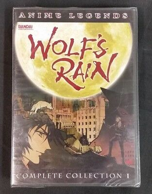 Wolf's Rain Complete Collection 1 DVD Anime Legends Bandai BRAND NEW SEALED!