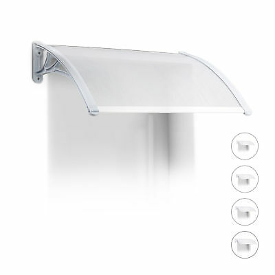 Window Awning Front Door Canopy made of Plastic, Various Sizes, Arched Canopy