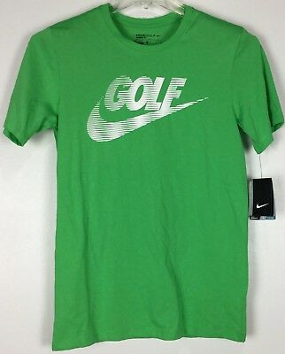 8b692461 Mens Nike Golf T Shirt Small Graphic Tee Dri Fit Short Sleeve Cotton Blend  NWT