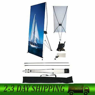 """Wall26 24"""" x 63"""" X Banner Stand For Trade Show/Store Display 1 pcs Free Shipping"""