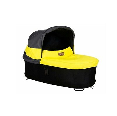 Mountain Buggy Carrycot Plus with 3 Seat Modes, Solus