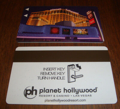 Planet Hollywood Resort Casino PH LV Hotel Room Key Card Holly Madison Marquee