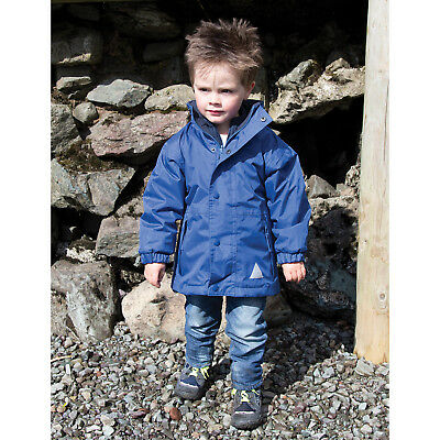 Result Kids Childrens StormDri 4000 Reversible Jacket Full Taped Waterproof Coat