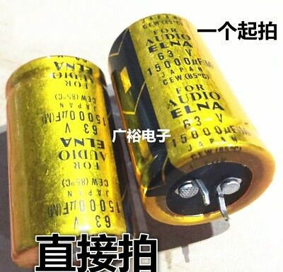 1pCS ELNA 15000UF 63V capacitor 35x50mm #G5647 XH
