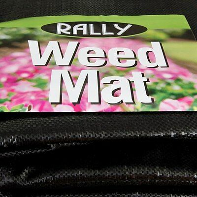 Rally Woven Weedmat Weed Control Mat  910mm x 50M Ground Cover Landscape Garden