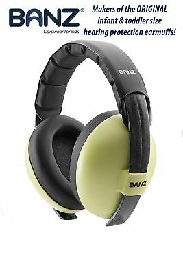 Baby Banz Earmuffs Infant Hearing Protection  Ages 0-2+ Years  THE BEST E... New