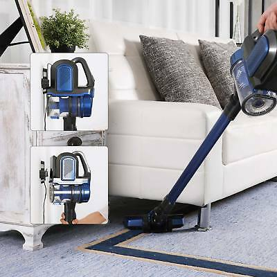 New Blue 2 in 1 Cordless Stick Vacuum 2 Speed Control 21.6V w/ Li-ion Battery