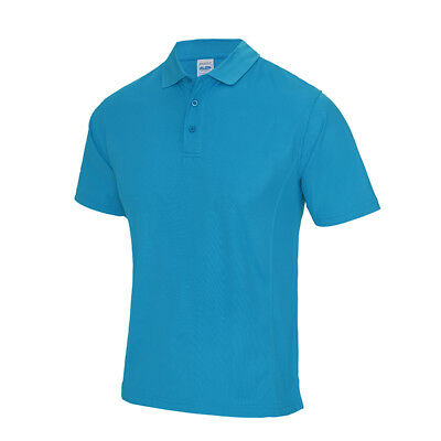 AWDis Cool  Mens Performance Wicking Active Gym Training Polo Shirt T Shirt Top