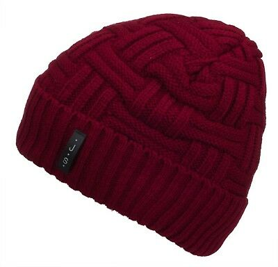 7112c54fc8f Spikerking Mens Winter Knitting Wool Warm Hat Daily Slouchy hats Beanie  S... New
