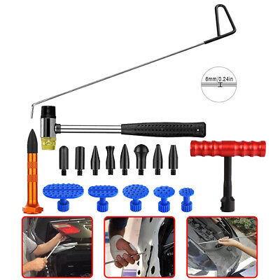 x8mm Black 1x Paintless Dent Removal PDR Rod Tail Whale Hail Repair 52cm 20.5in