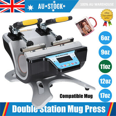 Mug Sublimation Heat Press Transfer Machine Automatic Printer Customize DIY Cup