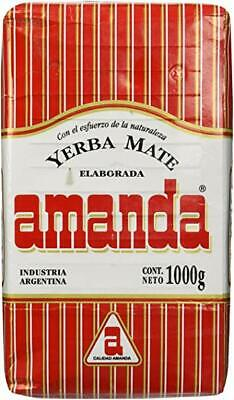 Amanda Yerba Mate Tea Traditional 1kg - Produced in Argentina