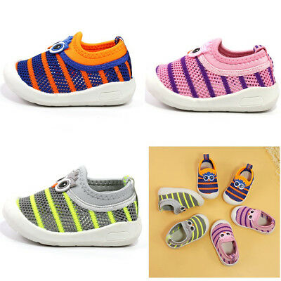 Cute Breathable Infant Toddler Baby Walking Shoes Boy Girl Kids Sport Shoes Size