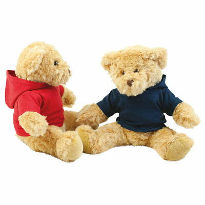 Mumbles Teddy Bear Hoodie T-Shirts Plain Cotton Long Sleeves Fleece Top Gift New