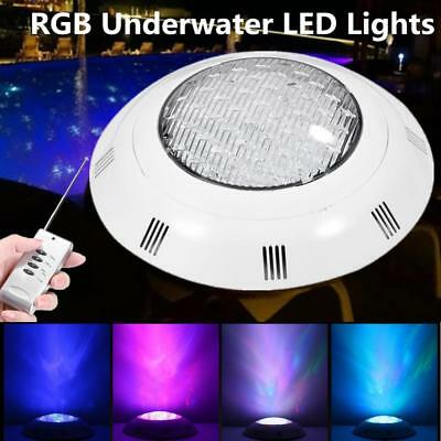 Swimming Pool Light RGB LED Bulb Remote Control Underwater 7 Color 12V 24/35W CL