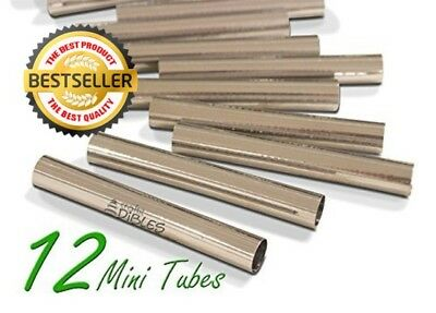 Mini Cannoli Tubes, Set of 12 by CiE Stainless steel Cannoli form Shells - Pastr
