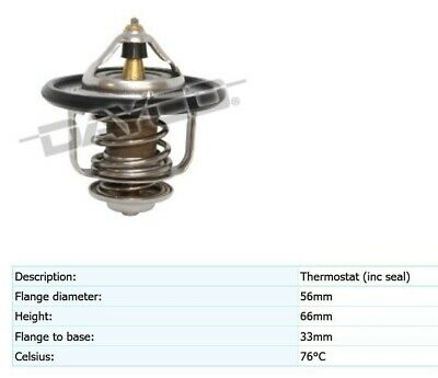 DAYCO Thermostat FOR Great Wall Motors X240 10//09-2.4L OHC MPFI CC 100kW 4G69