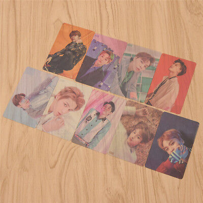 9pcs/Lot PVC NCT 127 Members Transparent Card Photocards Unisex Womens Fans Hot