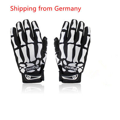 Lerway Cool Style Handschuhe lange Finger Skelett Monster Outdoor-Sportarten DE