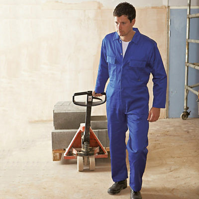 Portwest Euro Workwear Men's Polycotton Coverall Protective Boiler Suit Overalls