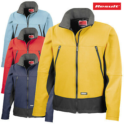 Result Adult Unisex Softshell Outdoor Breathable Activity Jacket Waterproof Coat