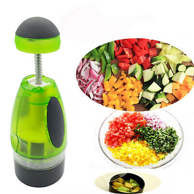 Slap Chop Chopper Vegetable Nuts, Chocolate Salad Cutter Slice Kitchen Tool