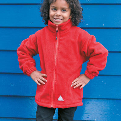 Result RE36J Junior PolarTherm Jacket Kids Childrens Winters Stretch Fit Jackets