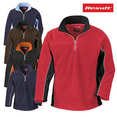 Result Sport Activity Unisex Fleece Stretch Fit Thermal Control Outdoor Jacket