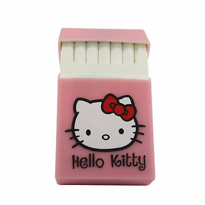 Hello Kitty Silicone Cigarette Pocket Case Box Holder Tobacco 20 - Pink