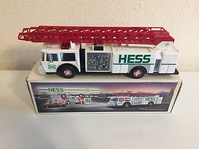1989 Hess Toy Fire Truck Bank - USED