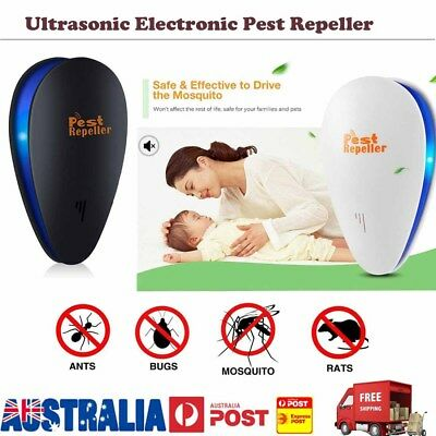 Pest Repeller Ultrasonic Electronic Mouse Rat Mosquito Insect Rodent Control MT