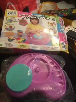 Pottery Wheel Clay Bags Accessories Childrens Molding Playset Gift Toys Sale New