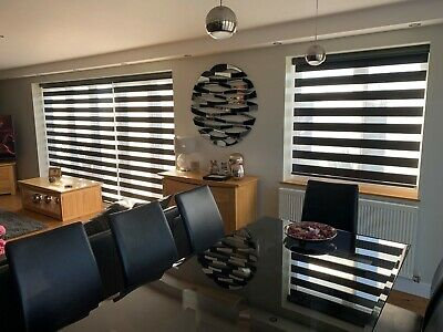 NEW !!! Day & Night / Zebra Blinds - ZAFIRA - UK PRODUCT - Made to measure
