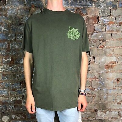 Animal Deluxe Retro T-Shirt in Grape Green Sizes S,L